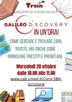 GalileoDiscovery volantino